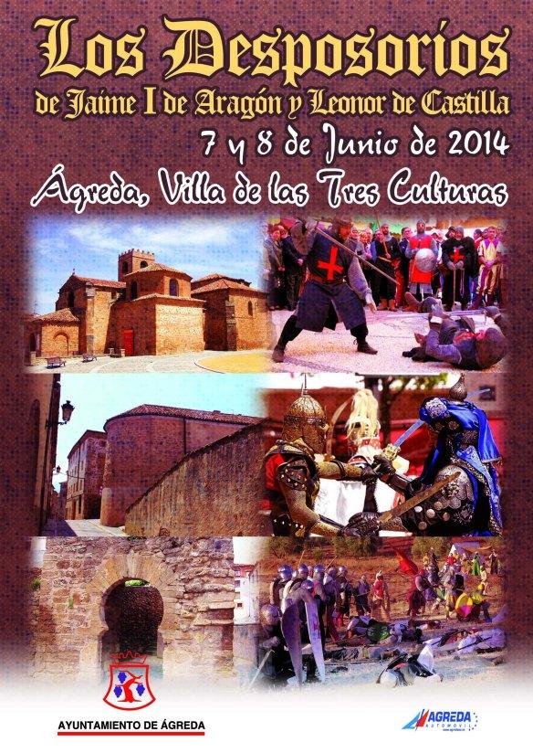 Y el 7 y 8 de junio... LA RINGLERA, Camino Soria: Desposorios de Jaime I de Aragón con Leonor de Castilla en Ágreda