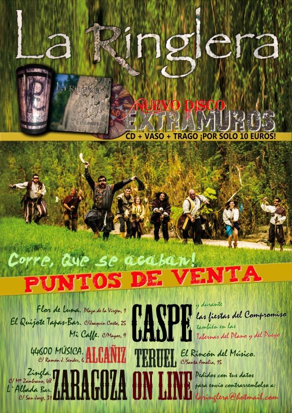 cartel PUNTOS VENTA