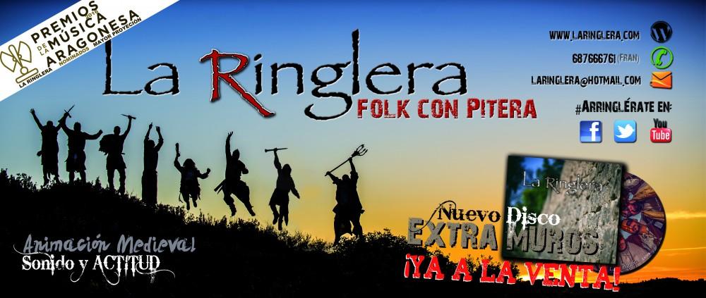 LA RINGLERA, Folk con Pitera…